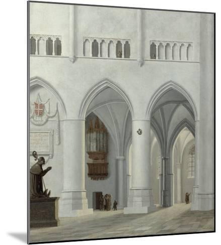 Interior of the Church of St. Bavo, Haarlem, 1630-Pieter Jansz Saenredam-Mounted Giclee Print