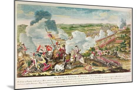 The Battle of Neumark, Silesia 5th December, 1757--Mounted Giclee Print