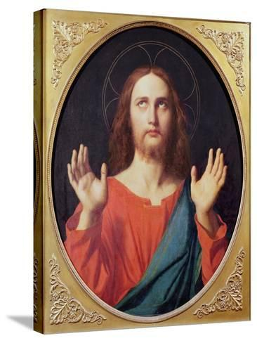 Christ-Jean-Auguste-Dominique Ingres-Stretched Canvas Print
