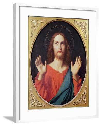 Christ-Jean-Auguste-Dominique Ingres-Framed Art Print
