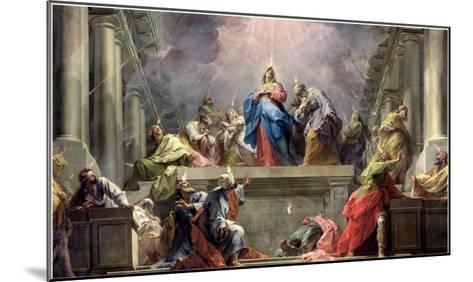 Pentecost, 1732-Jean Restout II-Mounted Giclee Print