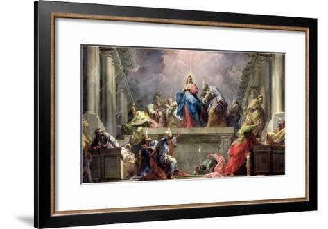 Pentecost, 1732-Jean Restout II-Framed Art Print