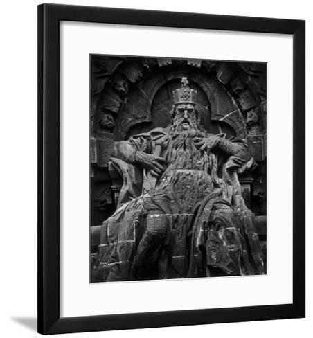 Monument to Emperor Barbarossa, Kyffhaeuser Mountain-Simon Marsden-Framed Art Print