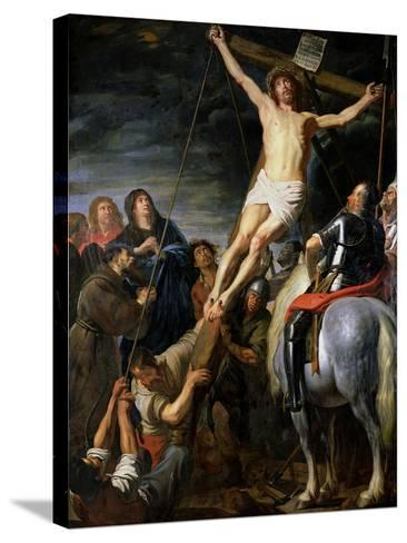 Raising the Cross, 1631-37-Gaspard de Crayer-Stretched Canvas Print