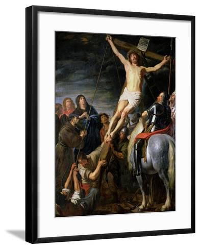 Raising the Cross, 1631-37-Gaspard de Crayer-Framed Art Print