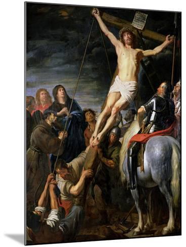 Raising the Cross, 1631-37-Gaspard de Crayer-Mounted Giclee Print