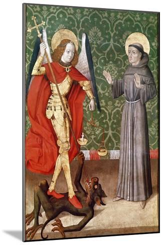 St. Michael and St. Francis of Assisi, c.1480--Mounted Giclee Print