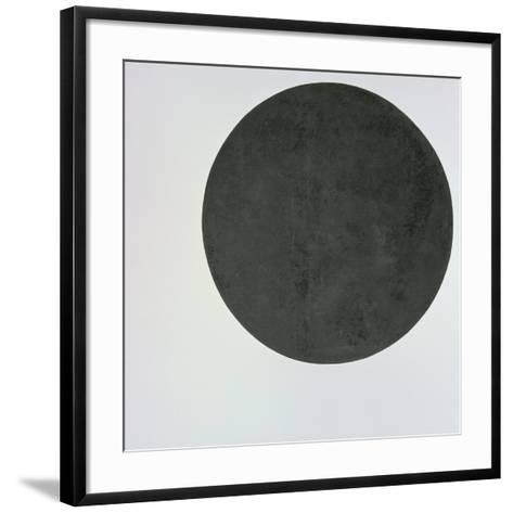 Black Circle, c.1920-Kasimir Malevich-Framed Art Print