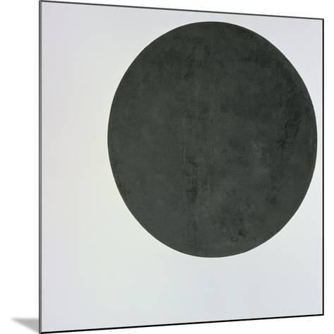 Black Circle, c.1920-Kasimir Malevich-Mounted Giclee Print