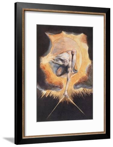 The Ancient of Days, from 'Europe a Prophecy', 1793-William Blake-Framed Art Print