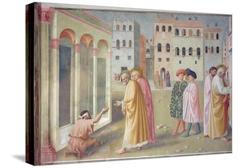 St. Peter Healing a Cripple, c.1427-Tommaso Masolino Da Panicale-Stretched Canvas Print