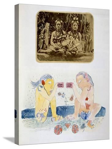 Illustrations from Noa Noa, Voyage a Tahiti, Published 1926-Paul Gauguin-Stretched Canvas Print