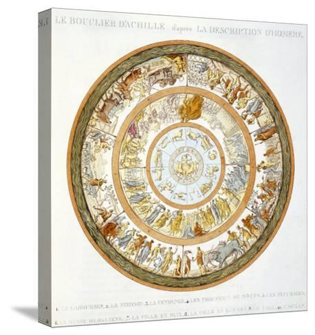 The Shield of Achilles, After the Description in Homer's Iliad, 1815--Stretched Canvas Print