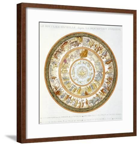 The Shield of Achilles, After the Description in Homer's Iliad, 1815--Framed Art Print