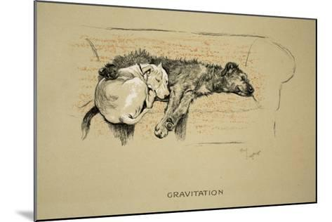 Gravitation, 1930, 1st Edition of Sleeping Partners-Cecil Aldin-Mounted Giclee Print