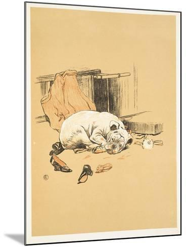 Not Finding the Chocolates, A Gay Dog, Story of a Foolish Year, Aldin, Cecil Charles Windsor-Cecil Aldin-Mounted Giclee Print