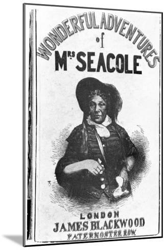 The Wonderful Adventures of Mrs Seacole, c.1857--Mounted Giclee Print