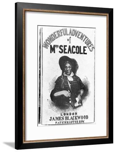 The Wonderful Adventures of Mrs Seacole, c.1857--Framed Art Print