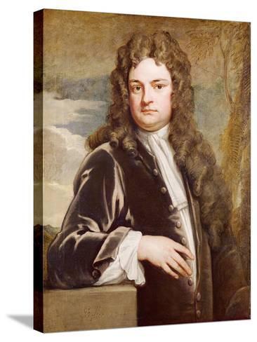 Portrait of Sir Richard Steele-Godfrey Kneller-Stretched Canvas Print