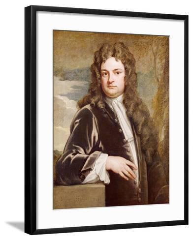 Portrait of Sir Richard Steele-Godfrey Kneller-Framed Art Print