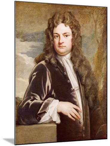 Portrait of Sir Richard Steele-Godfrey Kneller-Mounted Giclee Print