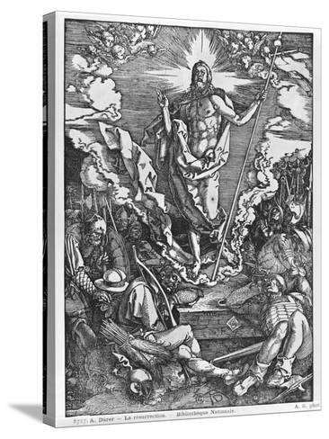 Resurrection, from 'The Great Passion' Series, 1510-Albrecht D?rer-Stretched Canvas Print