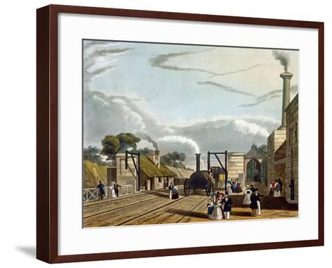 Water, Parkside, Liverpool and Manchester Railway, c.1833 Giclee ...
