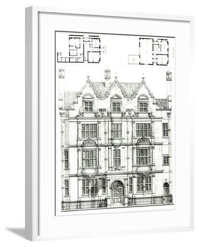 No.70 Ennismore Gardens, South Kensington, from The Building News, 23rd July 1886--Framed Art Print