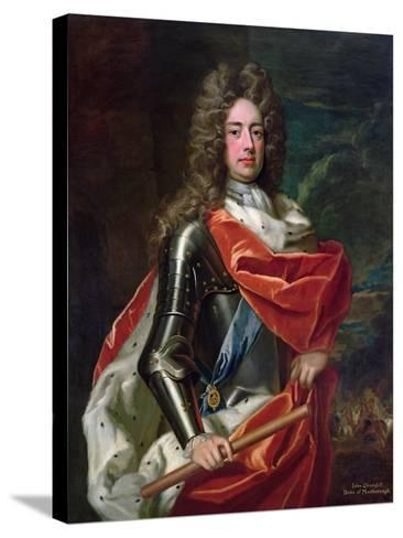 Portrait of John Churchill-Godfrey Kneller-Stretched Canvas Print