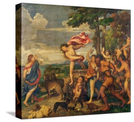 Bacchus and Ariadne, 1520-23-Titian (Tiziano Vecelli)-Stretched Canvas Print