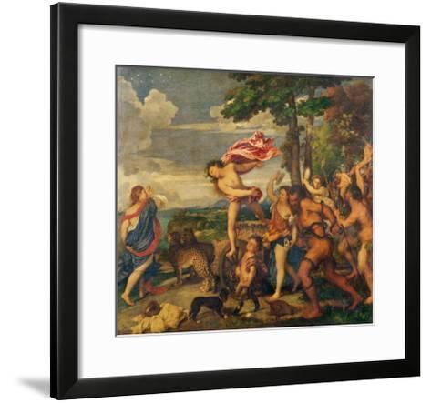 Bacchus and Ariadne, 1520-23-Titian (Tiziano Vecelli)-Framed Art Print