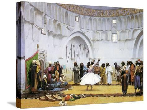 Whirling Dervishes, c.1895-Jean Leon Gerome-Stretched Canvas Print