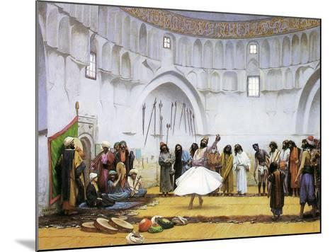 Whirling Dervishes, c.1895-Jean Leon Gerome-Mounted Giclee Print