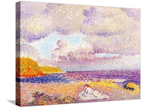Incoming Storm, 1907-08-Henri Edmond Cross-Stretched Canvas Print