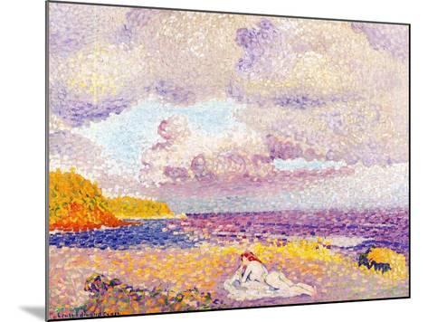 Incoming Storm, 1907-08-Henri Edmond Cross-Mounted Giclee Print