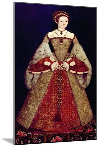 Portrait of Catherine Parr, 1545-Master John Of Samakov-Mounted Giclee Print