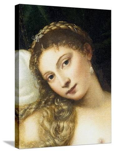 Venus of Urbino, Before 1538-Titian (Tiziano Vecelli)-Stretched Canvas Print