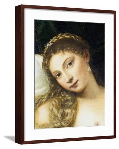 Venus of Urbino, Before 1538-Titian (Tiziano Vecelli)-Framed Art Print