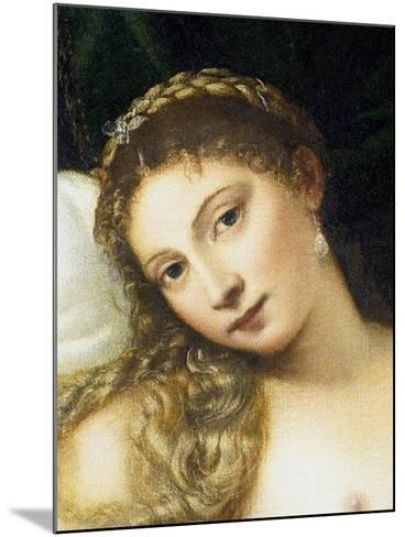 Venus of Urbino, Before 1538-Titian (Tiziano Vecelli)-Mounted Giclee Print