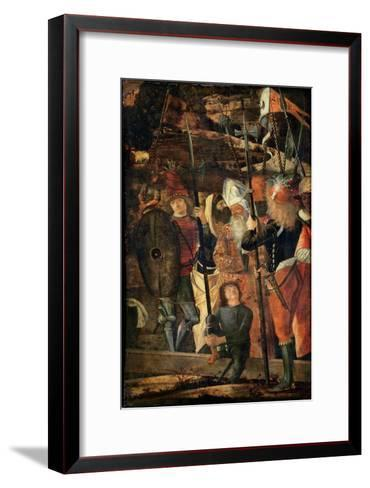 Group of Orientals, Jews and Soldiers, 1493-95-Vittore Carpaccio-Framed Art Print