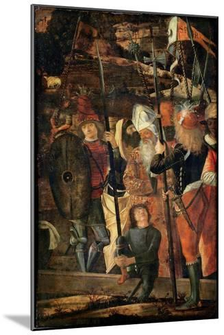 Group of Orientals, Jews and Soldiers, 1493-95-Vittore Carpaccio-Mounted Giclee Print