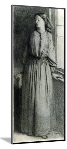 Elizabeth Siddal, May 1854-Dante Gabriel Rossetti-Mounted Giclee Print