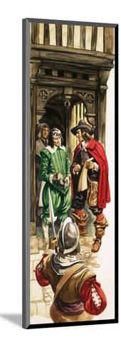 The Wonderful Story of Britain: King Charles the First. Tax Collectors-Peter Jackson-Mounted Giclee Print