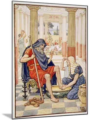 Yea, Verily, Thou Art Odysseus', Illustration from the Story of Greece by Mary Macgregor-Walter Crane-Mounted Giclee Print