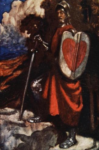 Interpreter Called For a Manservant of His, The Pilgrim's Progress Macgregor, Pub. Jack, 1907-John Byam Shaw-Stretched Canvas Print