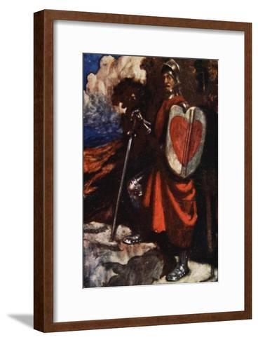 Interpreter Called For a Manservant of His, The Pilgrim's Progress Macgregor, Pub. Jack, 1907-John Byam Shaw-Framed Art Print