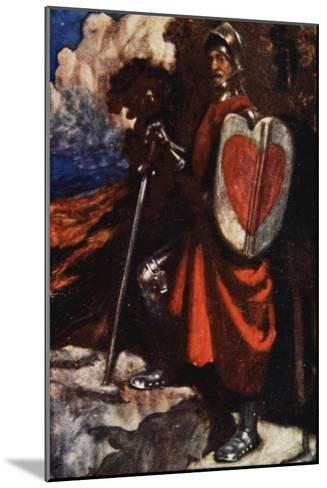 Interpreter Called For a Manservant of His, The Pilgrim's Progress Macgregor, Pub. Jack, 1907-John Byam Shaw-Mounted Giclee Print