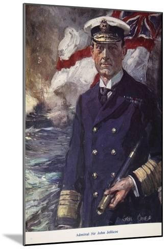 Admiral Sir John Jellicoe, Illustration from Told in the Huts: The YMCA Gift Book, Published 1916-Cyrus Cuneo-Mounted Giclee Print
