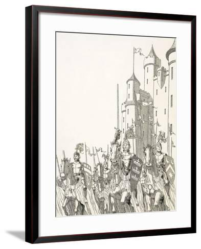 Great Quests: The Search For Camelot--Framed Art Print