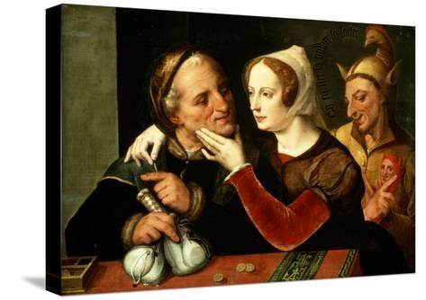 The Older One Becomes, the Madder One Becomes, So Says the Old Man- Master Of The Prodigal Son-Stretched Canvas Print